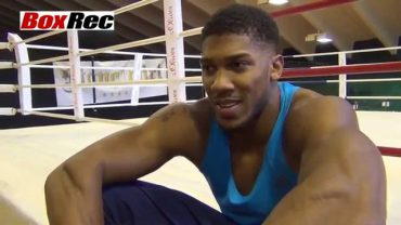Anthony Joshua Interview wladimir camp