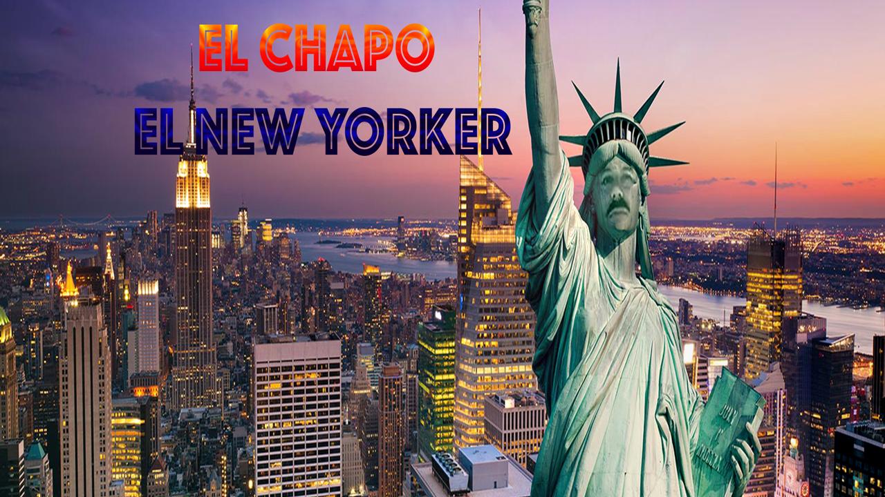 El Chapo an  NEW YORK USA ausgeliefert